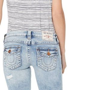 🆕PLUS True Religion Stella Distressed Skinny Jean